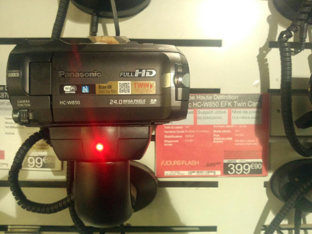 Caméscope Panasonic HC-W850 Twin Cam Full HD