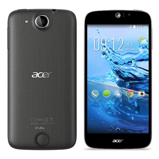 "Smartphone 5"" Acer Liquid Jade Z Noir (Android Lollipop, 4G, MediaTek MT6732 + Mali-T760, APN 13 MP...)"