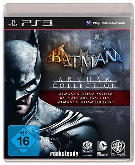 Jeu Batman Arkham Trilogy Collection  sur PS3 et Xbox 360