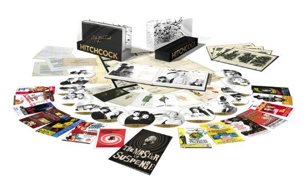 Coffret 14 Blu-Ray en Plexiglas  Alfred Hitchcock - Édition France Prestige