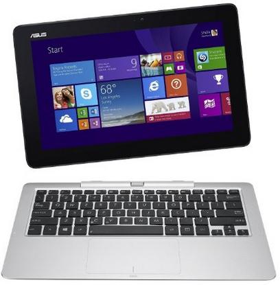 "PC portable hybride 11"" Asus Transformer Book PC T200TA-CP003H - SSD 32 Go (Intel Atom, 2 Go de RAM, Windows 8.1)"