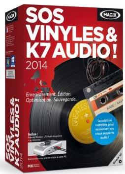 Logiciel PC Magix SOS Numérisez vos Vinyles et K7 audio 2014 (avec adaptateur)