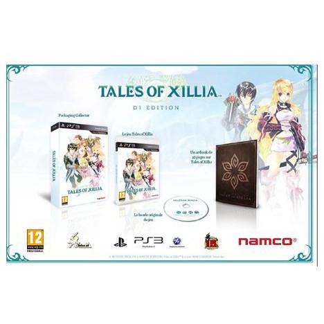 Tales Of Xillia D1 Edition Limitée sur PS3