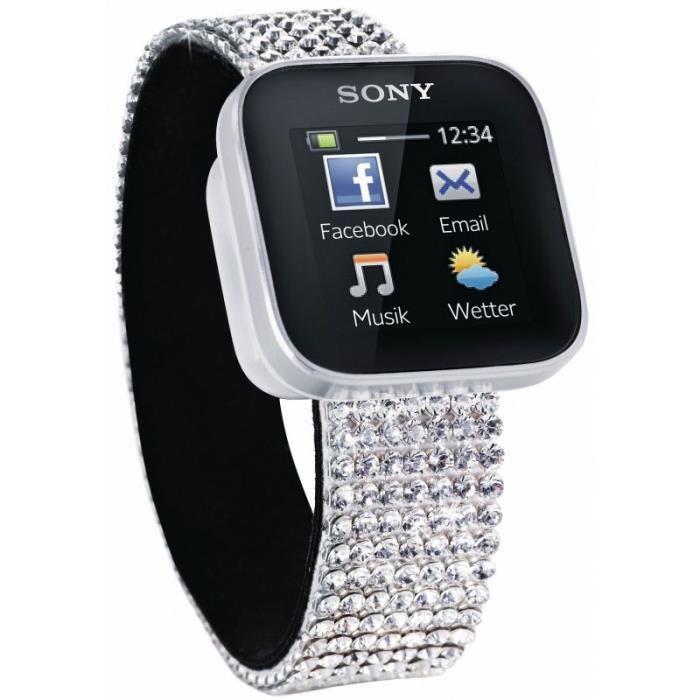 Smartwatch Sony édition swarovski
