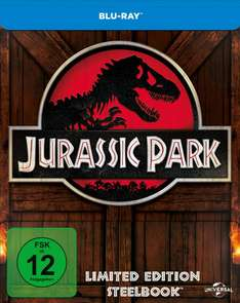 Blu-ray Steelbook Jurassic Park