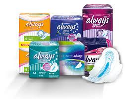 1.5€ de réduction sur tout la gamme Always - Ex : Serviettes Always Maxi nuit x12 à 0.08€
