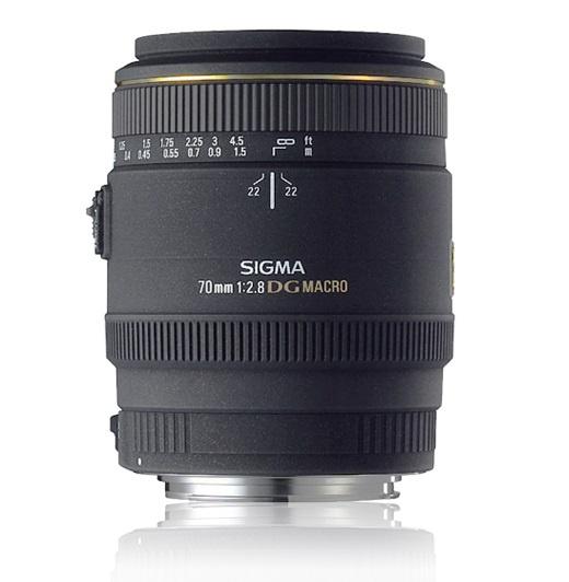 Objectif Sigma 70 mm f/2.8 DG Macro EX (monture Canon)