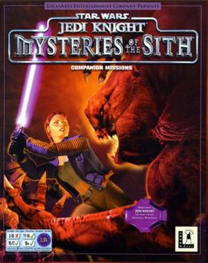 Sélection de jeux PC Star Wars en promo - Ex : Jeu PC (dématérialisé) Star Wars Jedi Knight: Mysteries of the Sith
