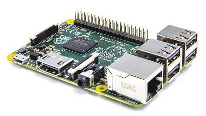 Raspberry Pi 2 Model B Broadcom BCM2836 1Go RAM