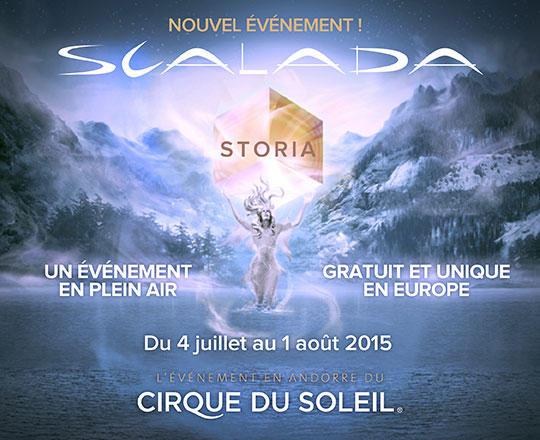 Places gratuites pour le Cirque du Soleil à Andorre