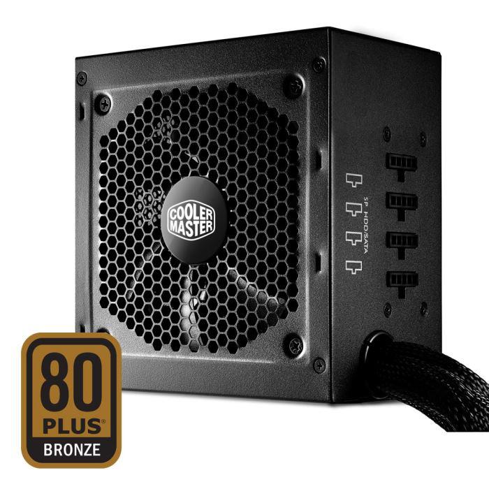 Alimentation modulaire PC Cooler Master 750W GM750 - Certifié 80 Plus Bronze