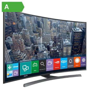 "Téléviseur 40"" Samsung UE40JU6570 - Curve - UHD 4K + Barre de son Samsung HWH600 offerte (avec ODR 150€)"