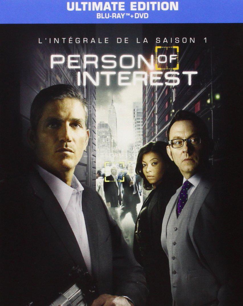 Coffret Person Of Interest Saison 1 (Blu Ray + DVD + Digital)