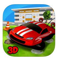Jeu Hoverdroid 3D - RC Aeroglisseur gratuit sur iOS (au lieu de 0.99€)
