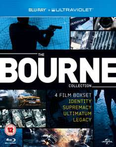 Coffret Blu-ray The Bourne Collection (4 films)
