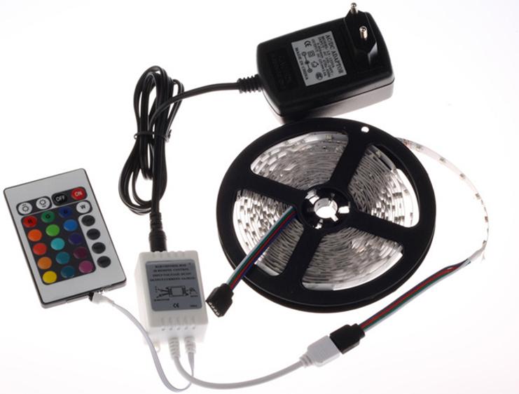 Ruban LED 5m couleur unique à 6,88€ / multicolor