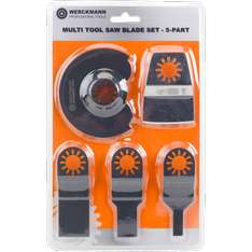 set de 5 pieces pour outil multifonctions