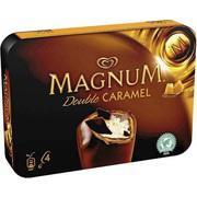 4 glaces Magnum (50% sur la carte + BDR)