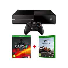 Pack XBOX One + Project Cars + Forza 5 (édition spéciale)