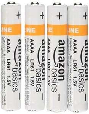 Lot de 4 piles AAAA alcalines AmazonBasics