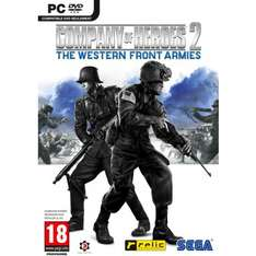 Company of Heroes 2 : The Western Front Armies sur PC (Version Boite)