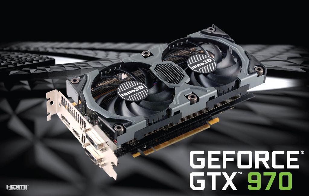 Carte graphique Inno3D GeForce GTX 970 4GB OC + The witcher 3 + Batman: Arkham Knight