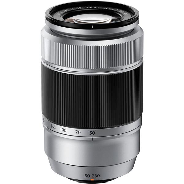 Objectif Fujifilm Fujinon XC 50-230mm f/4.5-6.7 OIS - Gris