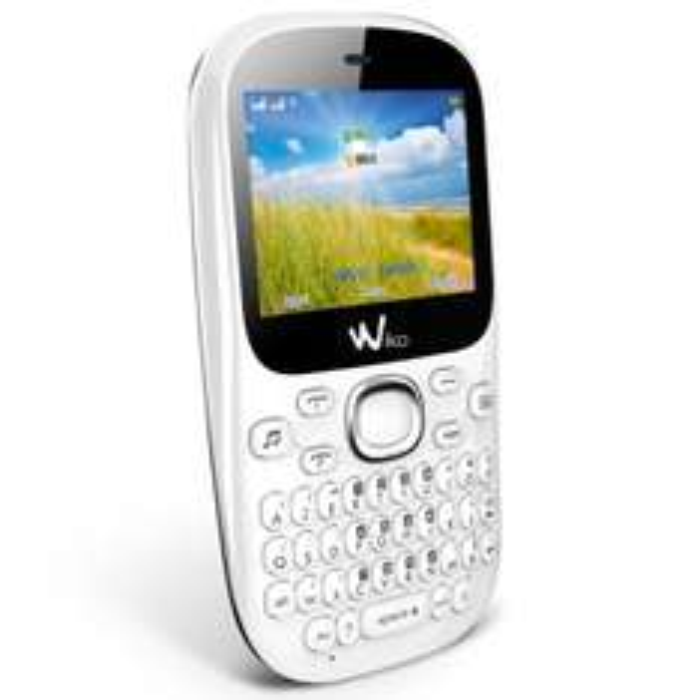 Téléphone Wiko Minz + Blanc