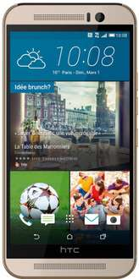 Smartphone HTC One M9 + enceinte Multi-room Sonos Play