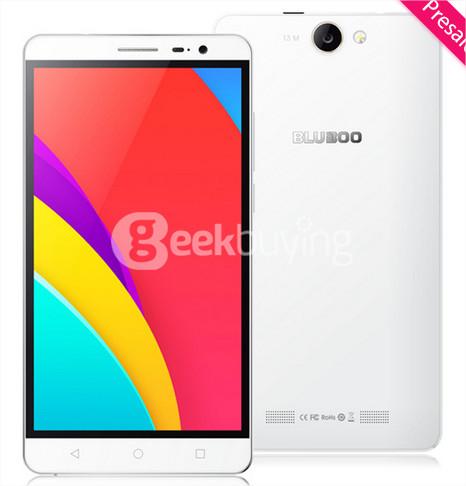 """Précommande: Smartphone 5.5"""" Bluboo X550 (4G, 5300mAh) - Noir ou blanc"""