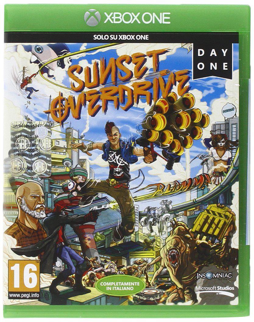 Jeu Xbox One : Sunset Overdrive