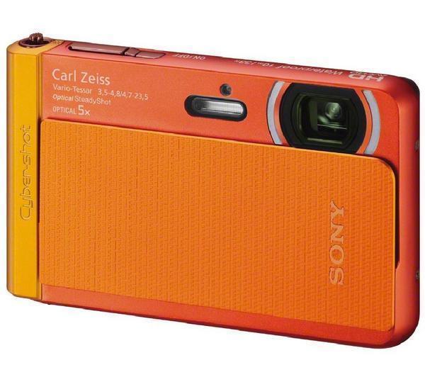 Appareil Photo Sony DSC-TX30 18 Mpix Full HD Etanche - Orange