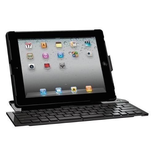 Clavier pliable + support Logitech Foldable Keyboard pour iPad2 - Noir