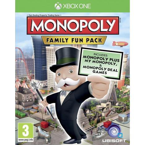 Monopoly Family Fun Pack + DLC Lapins Crétins sur Xbox One et PS4