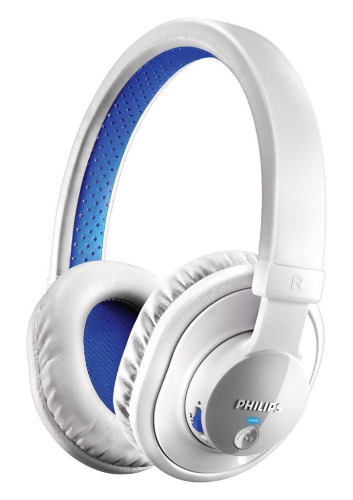 Casque Bluetooth Philips SHB7000/10 Blanc