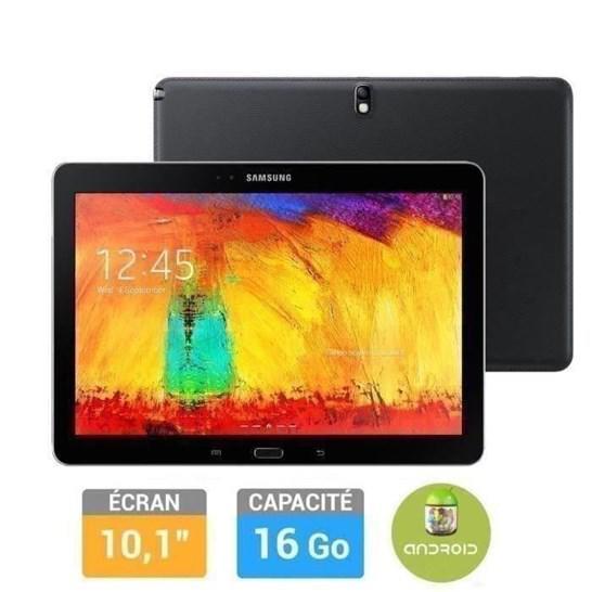 "Tablette Samsung Galaxy Note 10"" Edition 2014 - Noir + Carte MicroSD 16 Go Evo - Classe 10"