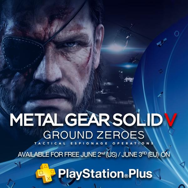 [Abonnés PS+] Metal Gear Solid Ground Zeroes et Skull of the Shogun offerts sur PS4, Call of Juarez Gunslinger offert sur PS3...