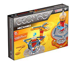 Jeu de Construction Geomag 6846 Mechanics 86 Pièces