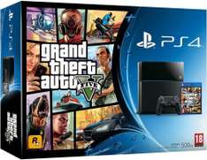 Pack Console PS4 Noire 500go + GTA V