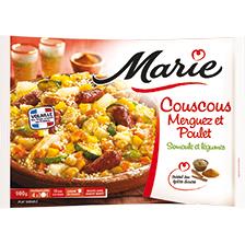Marie Couscous Merguez et Poulet 900g (Avec BDR 0.8€ + 2.5€ en bon d'achat)