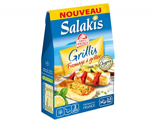 Salakis Grillis 180 g (Avec BDR 0.6€ + 1,50€ en Bon d'achat)