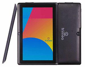 """Tablette 7"""" Trimeo TM - 8Go - HD 1024 X 600 - Lollipop - noir"""