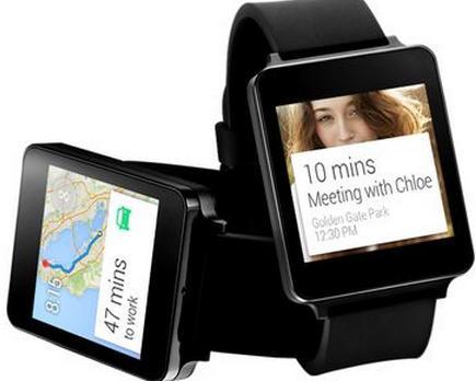Montre connectée LG G Watch - noire