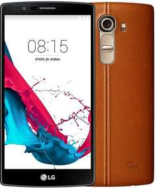 "Smartphone 5.5"" LG G4 32Go Version Cuir"