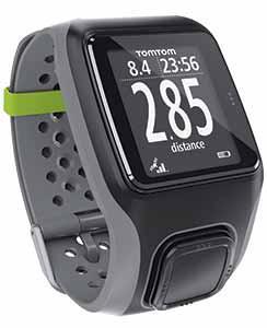Montre GPS TomTom Multi-Sport HRM + CSS + Ceinture cardio-fréquencemètre + Capteur de cadence/vitesse + Altimètre
