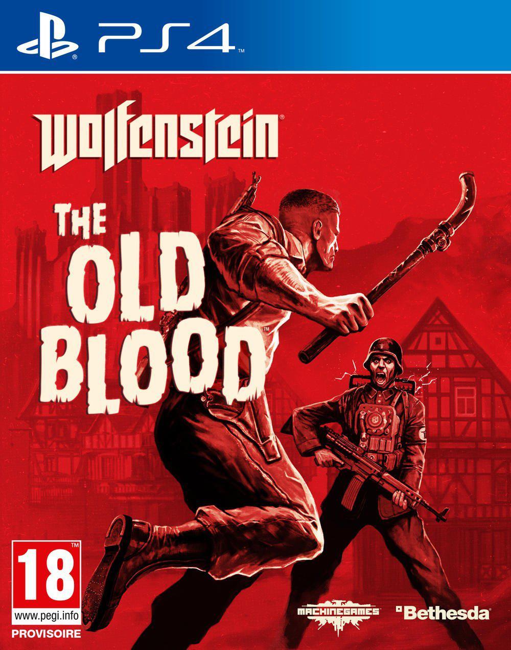 Jeu Wolfenstein: The Old Blood sur PS4