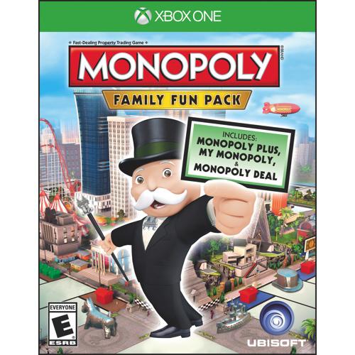 [Membres Gold]  Monopoly Family Fun Pack sur Xbox One (dématérialisé)