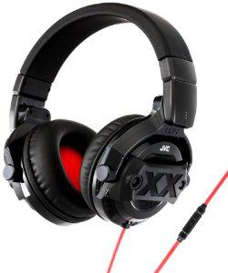 Casque JVC HA-MR77X - Noir/Rouge