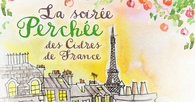 Chaque Mardi: Soirée apéritifs à base de cidre (Cidre, Cocktail etc..), dégustations gratuites sur les toits de Paris