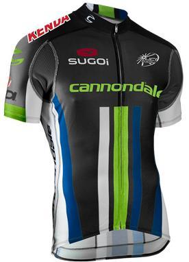 Maillot de Cycliste Cannondale Pro noir